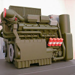 Perkins Engines (Caterpillar) Warrior 2000 Power Plant 1:4 Scale