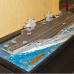 Queen Elizabeth Class Aircraft Carrier 1:200 Scale