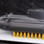 Astute Class SSN Nuclear-powered Fleet Submarine 1:75 Scale