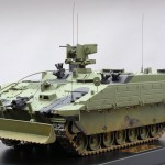 GDLS (UK) Atlas Repair and Recover Variant. Part of the Ajax family of Armoured Fighting Vehicles 1:10 Scale