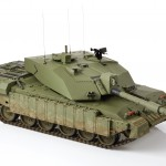 Challenger 2 Main Battle Tank. 1:10 Scale