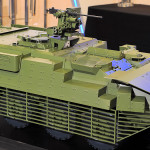 Up-Armoured Stryker AFV with Kongsberg Remote Weapon Station 1:10 Scale